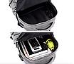 Рюкзак городской ISteeL для ноутбука Серый, фото 8