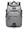 Рюкзак городской ISteeL для ноутбука Серый, фото 2