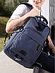 Рюкзак міський молоджіний ISteeL Синій, фото 3