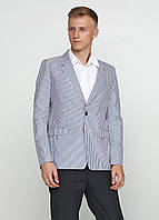 Пиджак унисекс DIESEL Black Gold цвет бежево-голубой размер 38 арт 00SQHUBG3DG