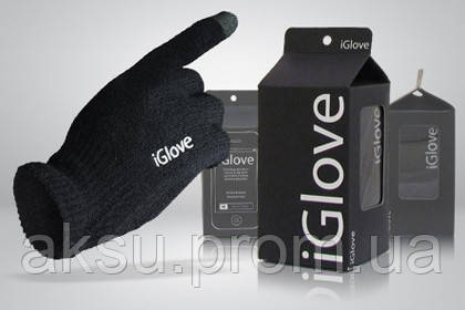 Оригинальные перчатки для сенсорных экранов iGlove (Black)