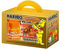 Подарочный набор желейных конфет с чашкой Haribo bunte Sammeltassen
