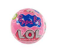 Кукла LOL Surprise (Peppa pig)