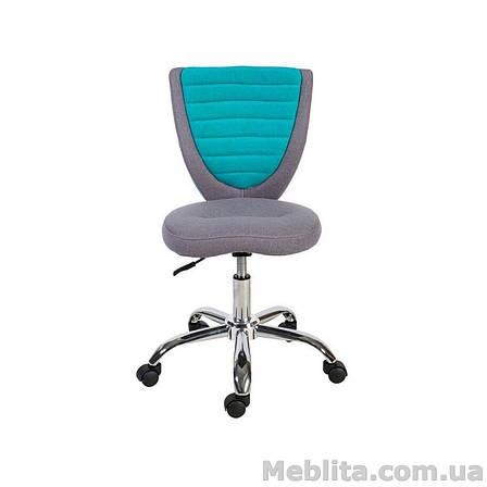 Кресло офисное POPPY, серо-голубое Office4You, фото 2