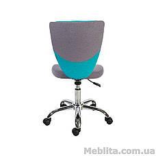 Кресло офисное POPPY, серо-голубое Office4You, фото 3
