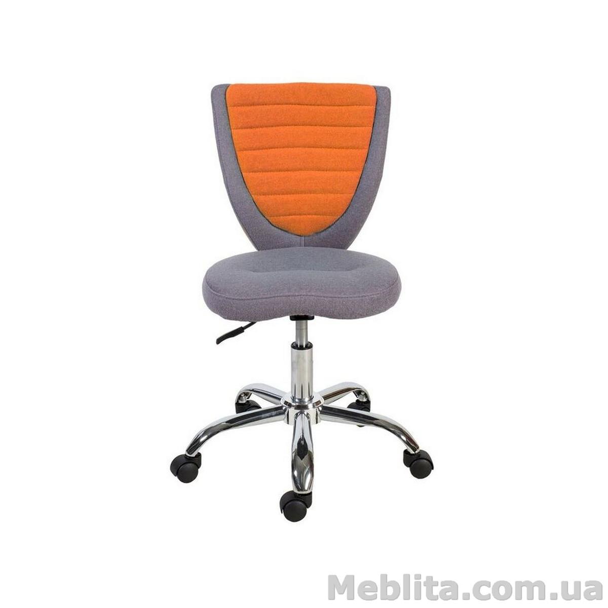 Кресло офисное POPPY, серо-оранжевое Office4You