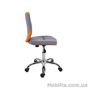 Кресло офисное POPPY, серо-оранжевое Office4You, фото 2
