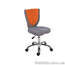 Кресло офисное POPPY, серо-оранжевое Office4You, фото 3