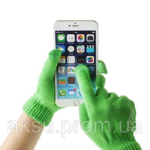 Оригинальные перчатки для сенсорных экранов iGlove (Gren)