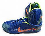 Сороконожки Nike MERCURIAL X  Р. 38,39 (синие), фото 3