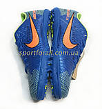 Стоноги Nike MERCURIAL X Р. 37-41 (сині), фото 4