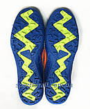Сороконожки Nike MERCURIAL X  Р. 38,39 (синие), фото 5