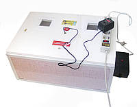 Инкубатор автоматический «Курочка Ряба» ИБ-100 вместимостью 100 яиц с двойным пластиковым корпусом , фото 1