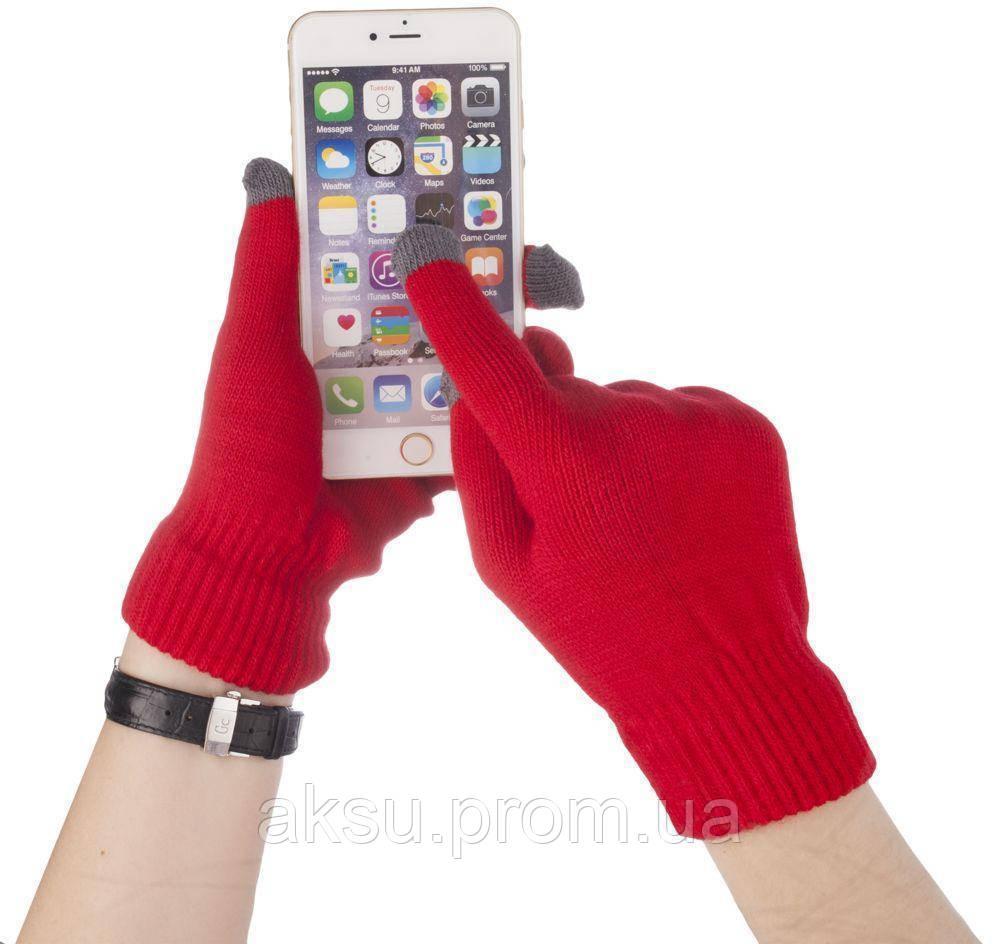Оригинальные перчатки для сенсорных экранов iGlove (Rose Red)
