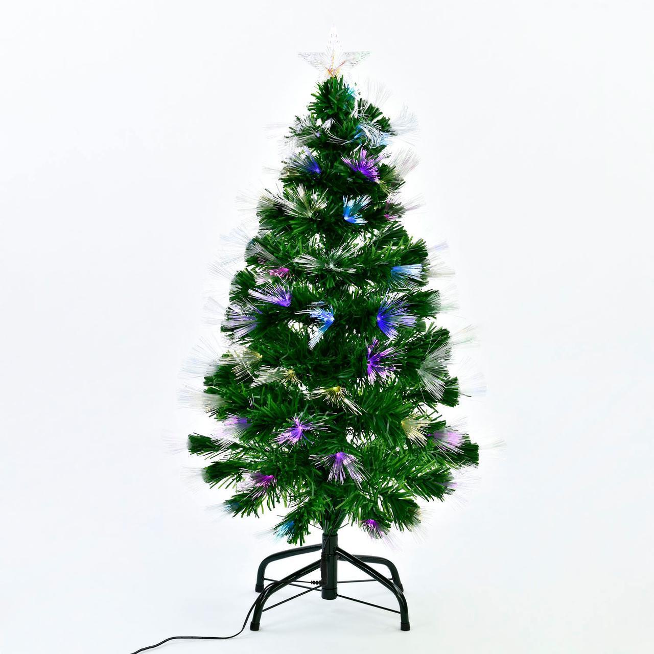 Искусственная ёлка светящаяся С 29328 высотой 90 см