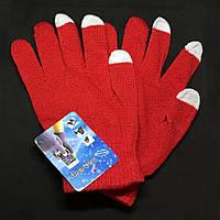 Оригинальные перчатки для сенсорных экранов iGlove (Rose Red), фото 1
