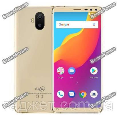 611e6700c04d9 Смартфон Allcall S1 золотого цвета MTK6580 4 ядра 2 Гб 16 Гб Android 8,1