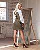 """Женское платье """"Клер""""- имитация костюма в расцветках. ВФ-4-1019, фото 2"""