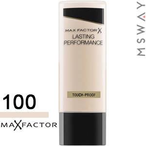 MaxFactor - Тональный крем Lasting Performance Тон 100 fair, светло бежевый 35ml, фото 2