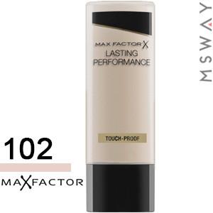 MaxFactor - Тональный крем Lasting Performance Тон 102 pastelle, песочно бежевый 35ml