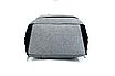 Рюкзак городской Meijieuo с выходом для кабеля унисекс Серый, фото 6