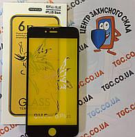 Защитное стекло Premium 6D для iPhone 6/6s Plus black