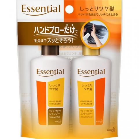 Шампунь и кондиционер для поврежденных волос с восстанавливающим и увлажняющим эффектом 2 х 45 мл (218445)