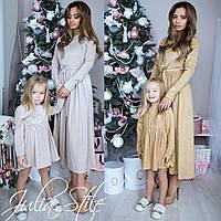 e043be257da Нарядные платья с люрексом ( взрослое + детское ) Family look № 0326