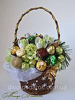 Букет из конфет Новогодний