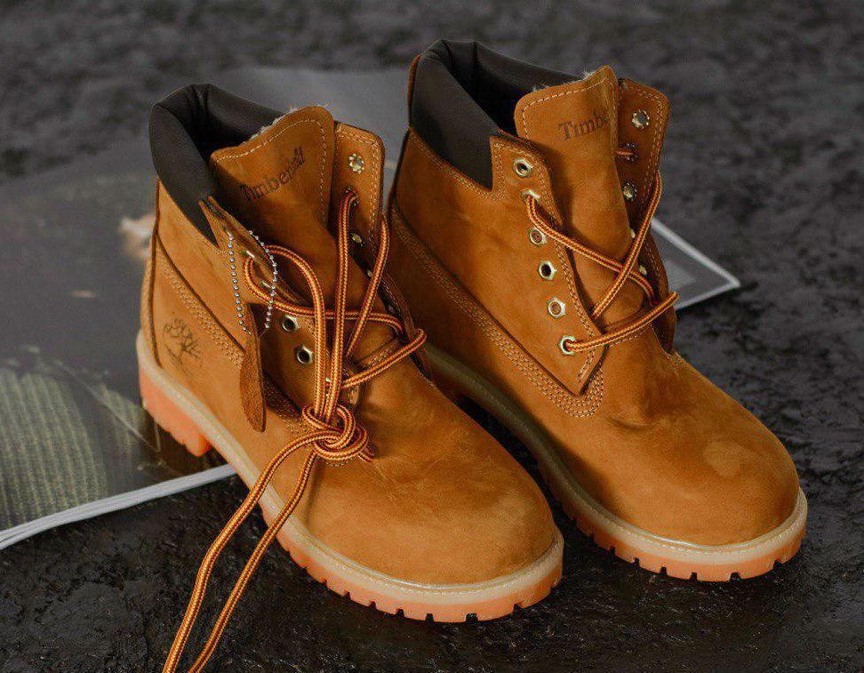Timberland Lux Chestnut Boots (USA)  43818101bfda5