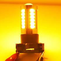 Светодиодная лампа SLP LED с цоколем PY24W  9-30V 33-5630 Желтый в повторитель поворота, фото 2