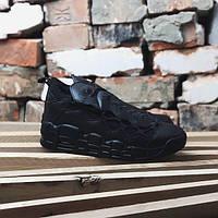 Кроссовки Nike Air More Money triple black (реплика А+++ ), фото 1
