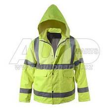 Світловідбиваюча куртка з капюшеном розмір ХL