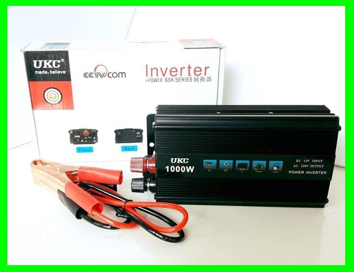 Преобразователь 1000w Инвертор с 12в на 220в