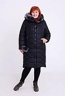 """Куртка """"Ксения"""" цвета :черная,синяя,волна"""