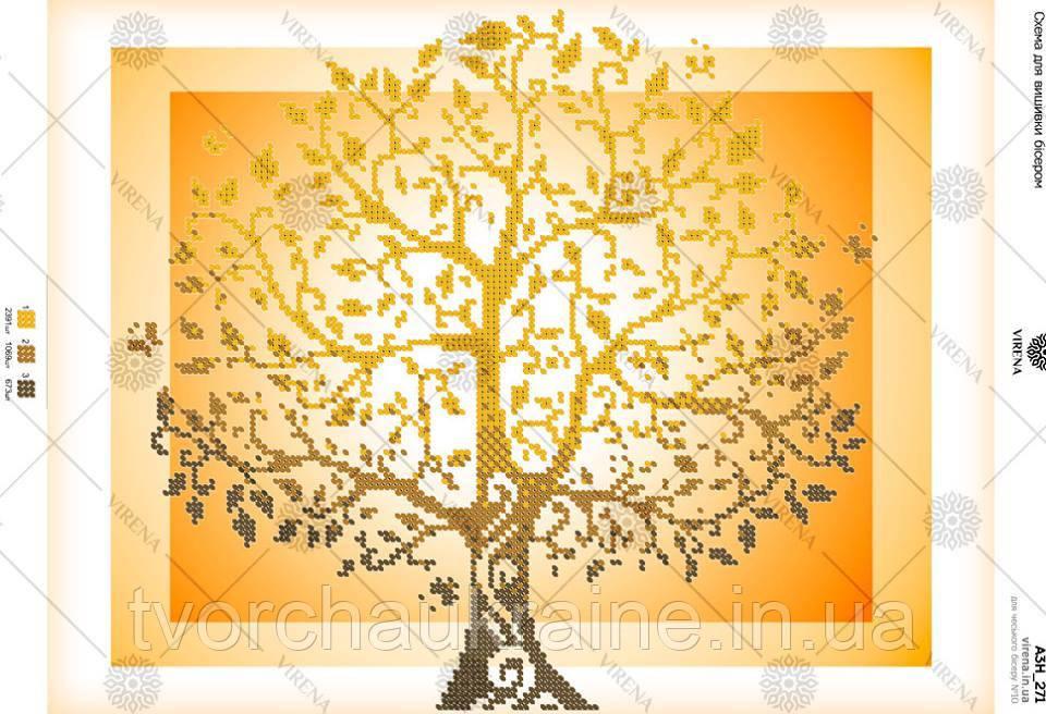 Схема для вишивання бісером Дерево життя