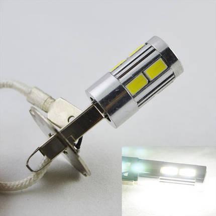 Автомобильная светодиодная лампа  SLS LED с цоколем H3  10-5630 9-30V в противотуманные фонари, фото 2