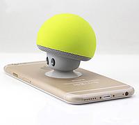 Портативная Bluetooth блютус колонка BT-280 грибок, зеленый.