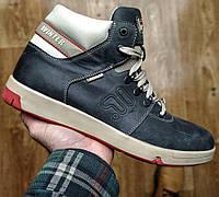 Зимние мужские ботинки в стиле Fila Winter синие