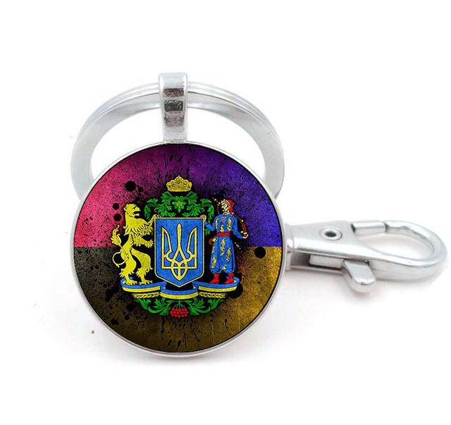 брелок с гербом Украина
