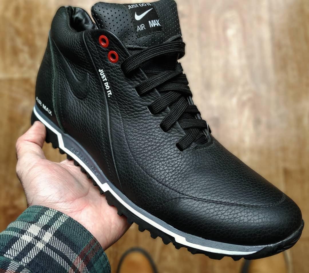 18d5686ad ... Зимние мужские ботинки кроссовки Nike Just Do it харьков реплика, фото 3