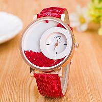 Часы женские Кей 104-3 красные