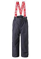 Зимние брюки на подтяжках для мальчика Reimatec Loikkа 522261-9780. Размеры 104-140.