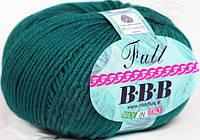 Пряжа BBB Full 7040 - изумрудный