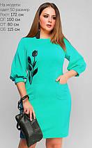 Женское платье из фактурного трикотажа (3173 lp), фото 3