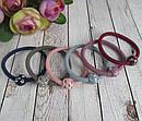 Резинки для волос цветные с пластиковыми шариками  d 5 см 100 шт/уп, фото 2