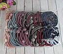 Резинки для волос цветные с пластиковыми шариками  d 5 см 100 шт/уп, фото 5