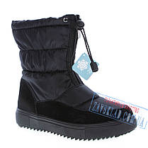 Женские черные сапожки - дутики Restime , фото 2