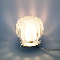 Встраиваемый декоративный точечный светильник с кристаллом Feron JD93  хром, фото 1