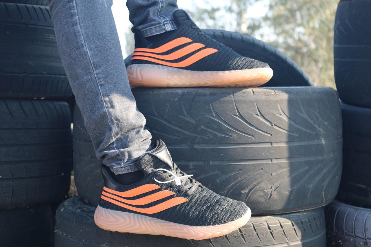 Мужские кроссовки Adidas Sobakov оранжевые топ реплика  продажа ... 90aab7737c729